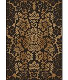 RugStudio presents Radici Usa Como Contemporary 1717 Brown- Gold Machine Woven, Good Quality Area Rug