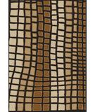 RugStudio presents Radici Usa Como Contemporary 1724 Brown Machine Woven, Good Quality Area Rug