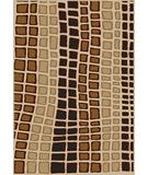 RugStudio presents Radici Usa Como Contemporary 1724 Ivory Machine Woven, Good Quality Area Rug