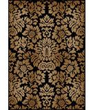 RugStudio presents Radici Usa Como Contemporary 1747 Black Machine Woven, Good Quality Area Rug