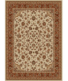 RugStudio presents Radici Usa Como 1833 Ivory Machine Woven, Good Quality Area Rug