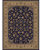 RugStudio presents Radici Usa Como 1833 Blue Machine Woven, Good Quality Area Rug