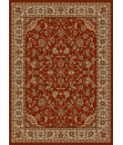 RugStudio presents Radici Usa Como 1833 Red Machine Woven, Good Quality Area Rug