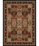 RugStudio presents Radici Usa Como 1834 Black Machine Woven, Good Quality Area Rug