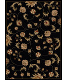 RugStudio presents Radici Usa Como 1835 Black Machine Woven, Good Quality Area Rug