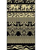 RugStudio presents Radici Usa Italia 1788 Black Machine Woven, Good Quality Area Rug