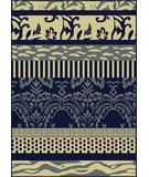RugStudio presents Radici Usa Italia 1788 Navy Machine Woven, Good Quality Area Rug