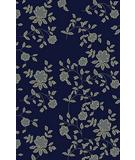 RugStudio presents Radici Usa Italia 1790 Navy Machine Woven, Good Quality Area Rug