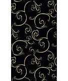 RugStudio presents Radici Usa Italia 1792 Black Machine Woven, Good Quality Area Rug