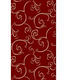 RugStudio presents Radici Usa Italia 1792 Red Machine Woven, Good Quality Area Rug