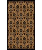 RugStudio presents Radici Usa Italia 1793 Black-Gold Machine Woven, Good Quality Area Rug