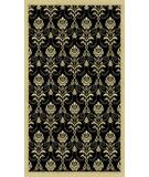RugStudio presents Radici Usa Italia 1793 Black Machine Woven, Good Quality Area Rug