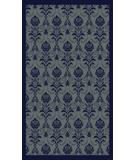 RugStudio presents Radici Usa Italia 1793 Navy Machine Woven, Good Quality Area Rug