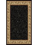 RugStudio presents Radici Usa Italia 1802 Black Machine Woven, Good Quality Area Rug
