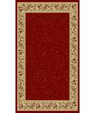 RugStudio presents Radici Usa Italia 1802 Red Machine Woven, Good Quality Area Rug
