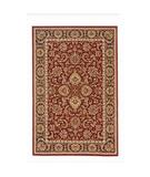 RugStudio presents Radici Usa Noble 1305 Burgundy Machine Woven, Good Quality Area Rug