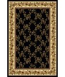 RugStudio presents Radici Usa Noble 1427 Black Machine Woven, Good Quality Area Rug