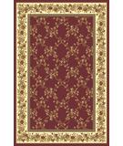 RugStudio presents Radici Usa Noble 1427 Burgundy Machine Woven, Good Quality Area Rug