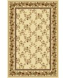 RugStudio presents Radici Usa Noble 1427 Ivory Machine Woven, Good Quality Area Rug