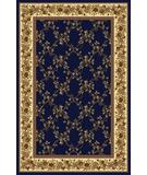 RugStudio presents Radici Usa Noble 1427 Navy Machine Woven, Good Quality Area Rug