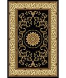 RugStudio presents Radici Usa Noble 1419 Black Machine Woven, Good Quality Area Rug