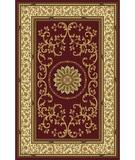 RugStudio presents Radici Usa Noble 1419 Burgundy Machine Woven, Good Quality Area Rug