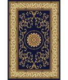 RugStudio presents Radici Usa Noble 1419 Navy Machine Woven, Good Quality Area Rug