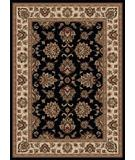 RugStudio presents Radici Usa Vesuvio 1691 Black Machine Woven, Good Quality Area Rug