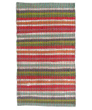 RugStudio presents Ragtime Beachball Multi Rag Area Rug