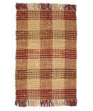 RugStudio presents Ragtime Booker Plaid Red Rag Area Rug