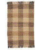 RugStudio presents Ragtime Booker Plaid Brown Rag Area Rug