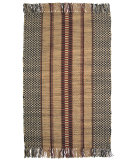 RugStudio presents Ragtime Burdette 64482 Black Rag Area Rug
