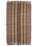 RugStudio presents Ragtime Burdette 64483 Red Rag Area Rug