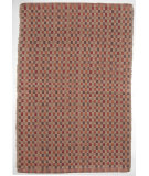 RugStudio presents Ragtime Checkerboard 64492 Red Rag Area Rug