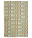 RugStudio presents Ragtime Checkerboard 64491 Green Rag Area Rug