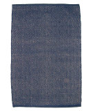 RugStudio presents Ragtime Davenport Diamond Denim Rag Area Rug