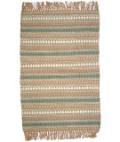 RugStudio presents Ragtime Diamond 64498 Blue Rag Area Rug