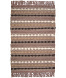 RugStudio presents Ragtime Diamond 64499 Brown Rag Area Rug