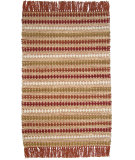 RugStudio presents Ragtime Diamond 64501 Red Rag Area Rug