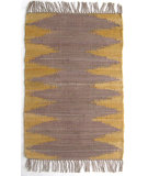 RugStudio presents Ragtime Laredo Gold Flat-Woven Area Rug