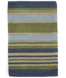 RugStudio presents Ragtime Newport 64524 Blue Rag Area Rug