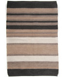 RugStudio presents Ragtime Newport 64525 Brown Rag Area Rug