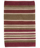 RugStudio presents Rugstudio Sample Sale 64526R Red Rag Area Rug