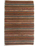RugStudio presents Ragtime Strata Nutmeg Rag Area Rug