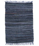 RugStudio presents Ragtime Sturbridge 64537 Denim Rag Area Rug
