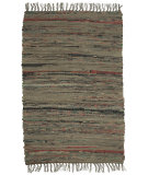 RugStudio presents Ragtime Sturbridge Khaki Rag Area Rug