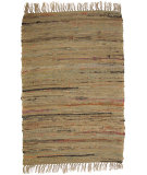 RugStudio presents Ragtime Sturbridge 64540 Mustard Rag Area Rug