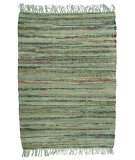 RugStudio presents Ragtime Sturbridge 64541 Sage Rag Area Rug