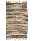 RugStudio presents Ragtime Sturbridge 64543 Stone Rag Area Rug
