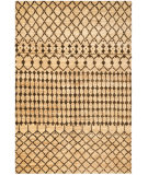 RugStudio presents Ralph Lauren Rhodes Brown RLR5114A White/Off White/Cream/Ivory Hand-Knotted, Better Quality Area Rug